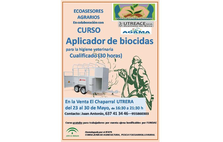 Un curso de aplicador de biocidas en Utrera