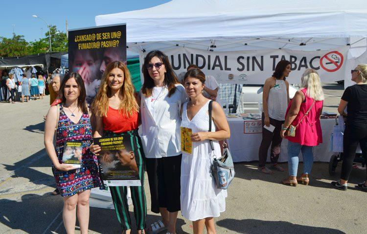 Una campaña municipal luchará en Utrera contra el consumo de tabaco en los veladores cerrados de los bares