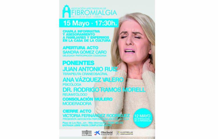 La asociación de afectados de fibromialgia de Utrera organiza una charla informativa y de asesoramiento