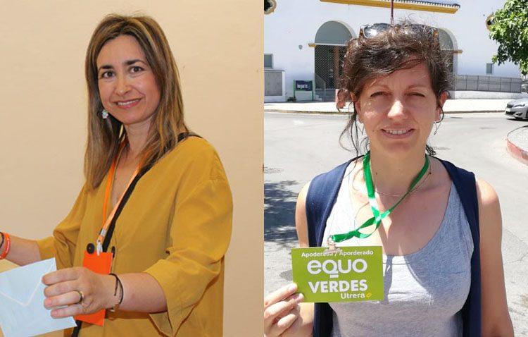 Ciudadanos y Equo agradecen a los utreranos el apoyo expresado en las urnas