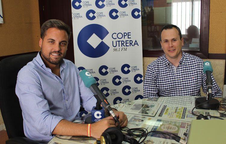 El candidato del PP defiende en COPE Utrera (98.1 FM) su apuesta por el empleo, el deporte y la sanidad (AUDIO)