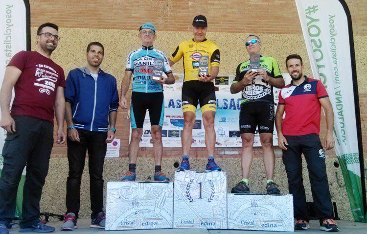 Nuevo pódium para el ciclista del «Jip Carbono» Rafael Marín