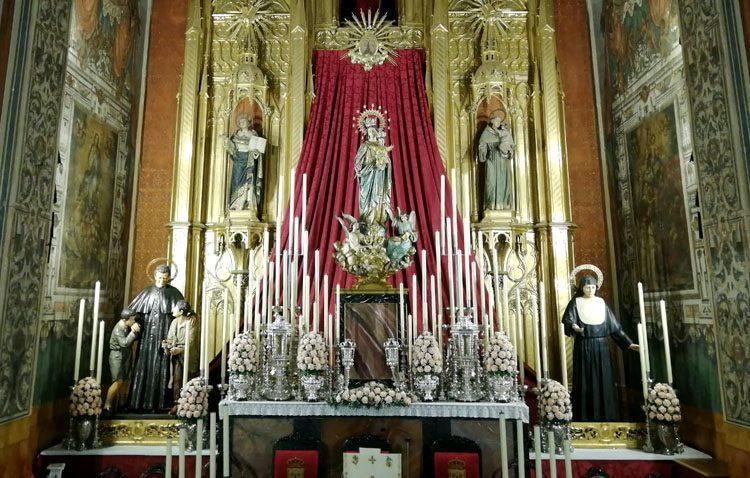 La Casa salesiana de Utrera celebra los cultos anuales en honor a María Auxiliadora