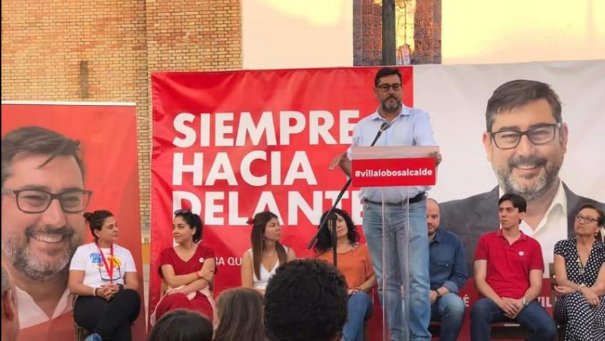 Villalobos pide apoyo masivo para evitar un pacto de todos contra el PSOE