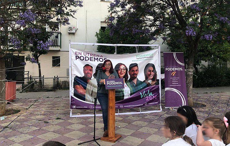 ELECCIONES 2019: Podemos llama a «hacer historia» en las elecciones municipales en Utrera