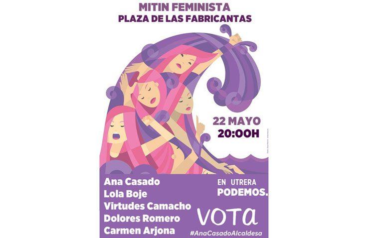 ELECCIONES 2019: Podemos celebra un mitin de mujeres en Utrera