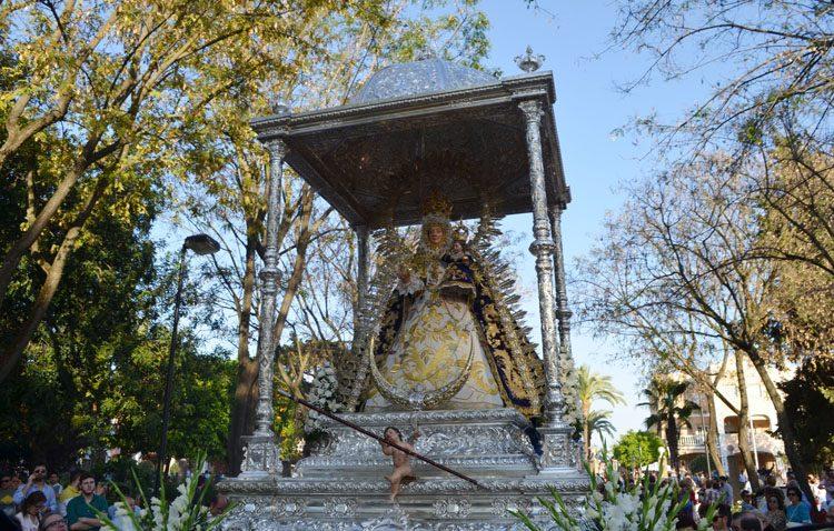 La hermandad de la patrona de Utrera suspende los actos del 1 de mayo