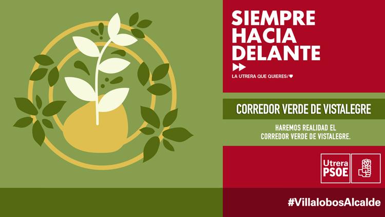 ELECCIONES 2019: El PSOE promete crear el corredor verde de Vistalegre