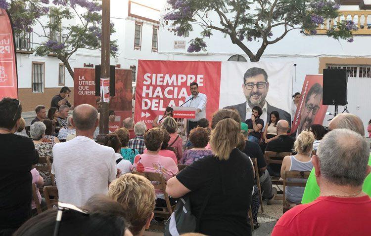 ELECCIONES 2019: El PSOE alerta «de que la extrema derecha pueda entrar en el gobierno de Utrera»