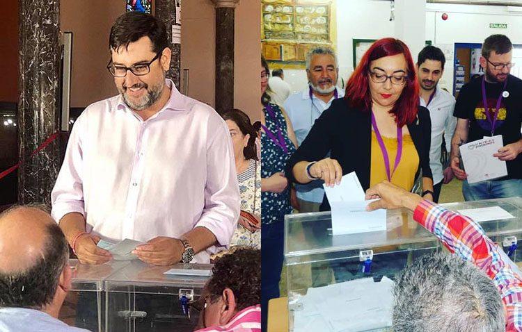 El PSOE y Podemos agradecen a los utreranos el apoyo mostrado en las elecciones municipales