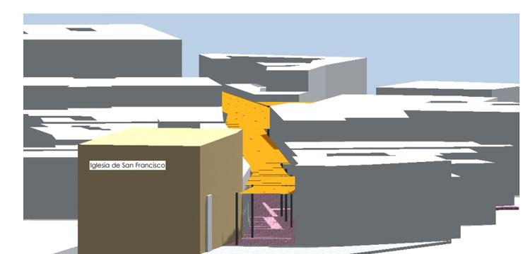 Un entoldado aliviará las altas temperaturas de verano en la calle Virgen de Consolación