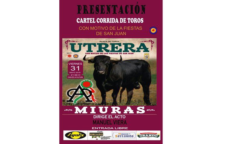 Una histórica corrida de toros con reses de Miura para celebrar la fiesta de San Juan en Utrera