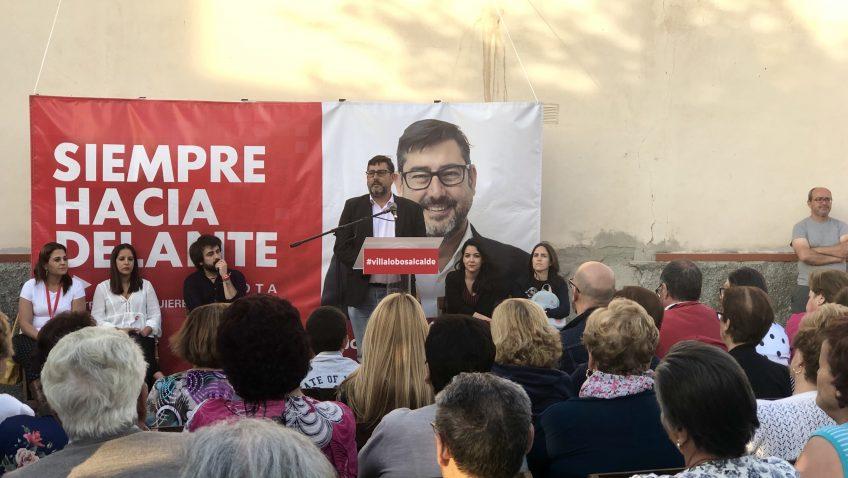 ELECCIONES 2019: José María Villalobos pide el voto para una amplia mayoría de gobierno para que Utrera siga avanzando