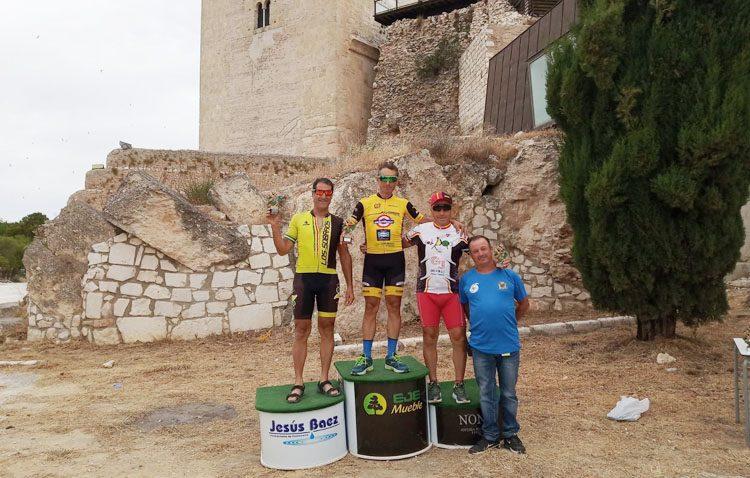 El ciclista Rafael Molina, imparable con el «Jip Carbono Team»