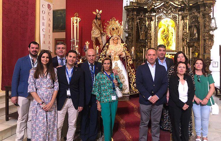 Utrera acogerá en 2022 el encuentro nacional de hermandades del segundo misterio doloroso