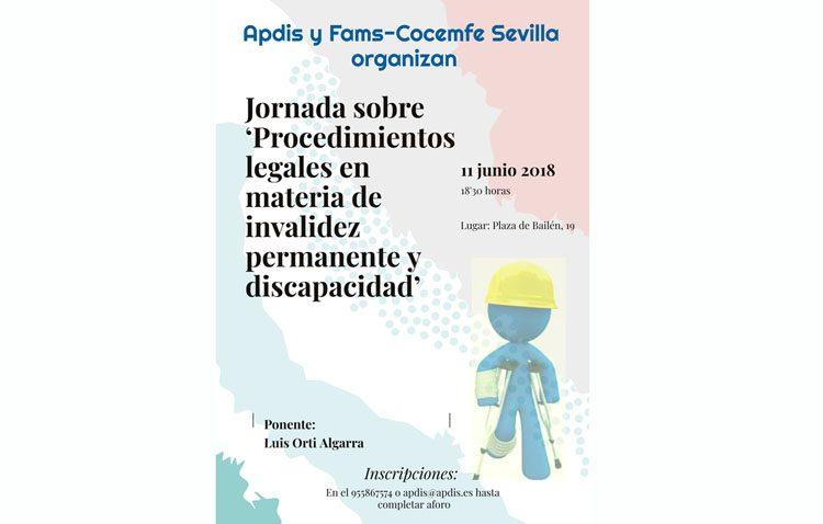 Una jornada hablará en Utrera sobre legalidad y discapacidad