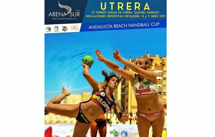 Utrera se convierte en el epicentro del balonmano playa andaluz