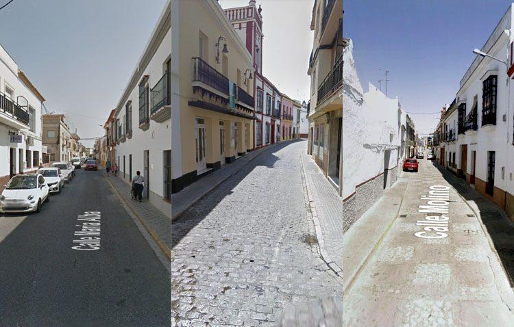 Reforma integral en la calle Sevilla, María Alba y Molino
