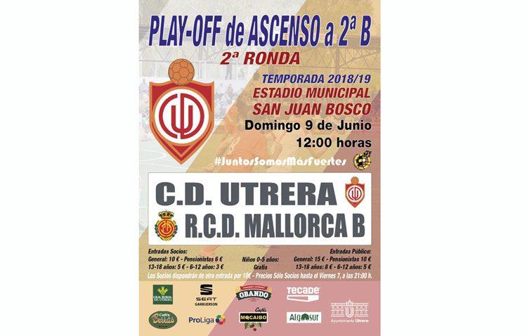 C.D. UTRERA – MALLORCA B: El San Juan Bosco, un fortín para recibir al Mallorca