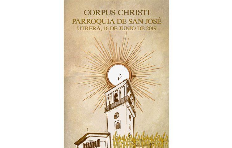 Procesión eucarística en la parroquia de San José
