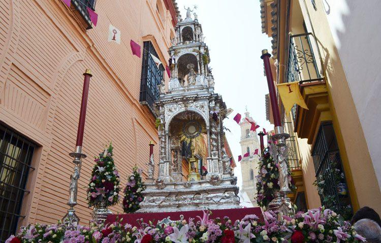 Suspendida la procesión tradicional del Corpus Christi en Utrera para prevenir contagios del Covid-19