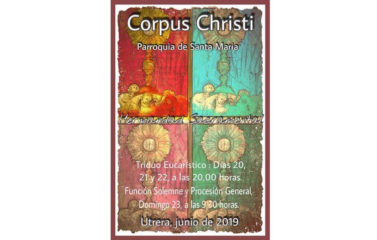 Cita con la procesión del Corpus Christi en la parroquia de Santa María