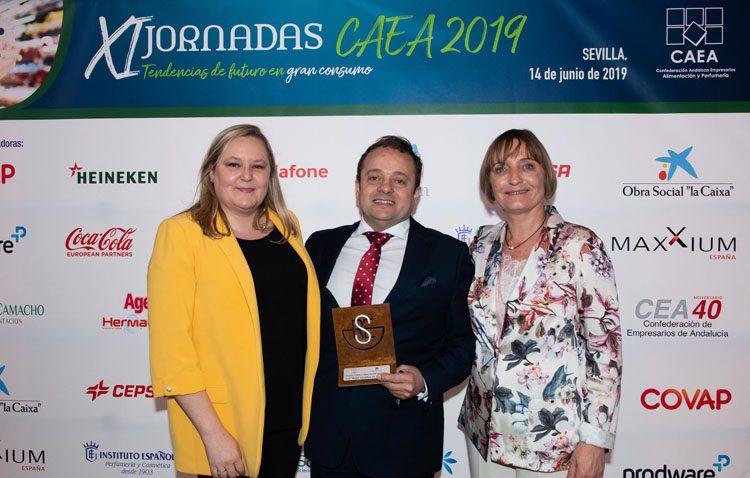 La empresa Díaz Cadenas recibe un prestigioso premio por su compromiso social