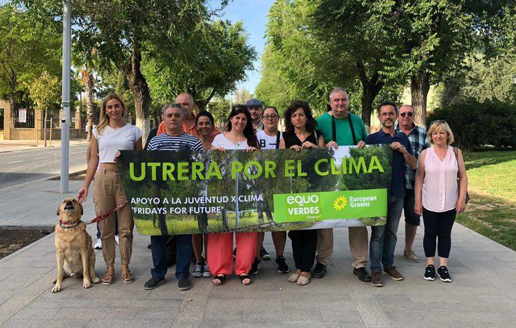 Equo Verdes reclama al Ayuntamiento de Utrera la declaración de «emergencia climática» y medidas para luchar contra esta situación