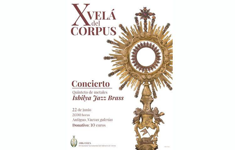 Concierto de un quinteto de metales para celebrar la fiesta del Corpus Christi