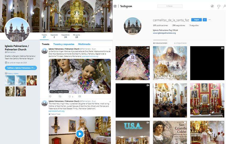 La iglesia palmariana sigue buscando nuevos adeptos con la creación de redes sociales propias