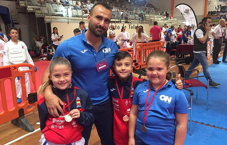 El Club Karateka «ON Sport&Wellness» pone el broche de oro a una gran temporada
