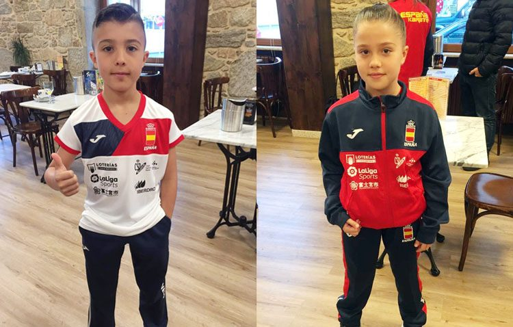 Dos karatekas utreranos representarán a España en el trofeo de Toledo