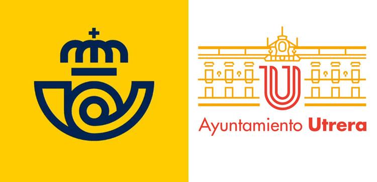 El Ayuntamiento destaca que el responsable de la nueva imagen corporativa de Correos fue el autor del logotipo de Utrera