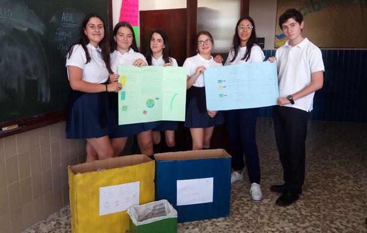 Un proyecto en el colegio Sagrada Familia con «soluciones para los problemas como buenos ciudadanos»