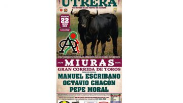 Todo listo en Utrera para la histórica corrida de toros de Miura (VÍDEO)