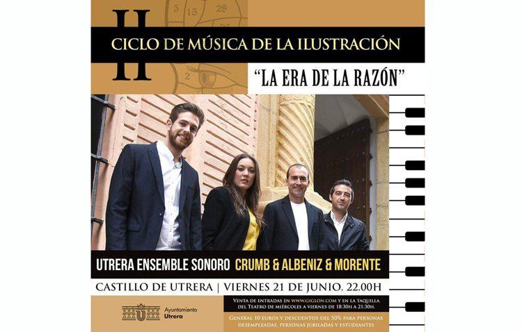 Un interesante concierto en el castillo con «Utrera Ensemble Sonoro»
