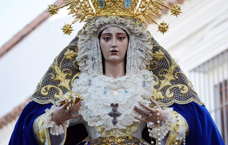 La asociación de fieles del Resucitado celebra los cultos anuales en honor a la Virgen de la Estrella