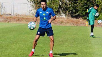 El futbolista utrerano Carlos Valverde, nuevo jugador del Córdoba C.F.