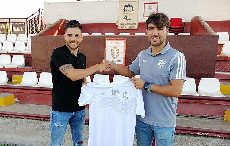 El utrerano Vicente Lucas Montes, el primer fichaje para la nueva temporada del C.D. Utrera