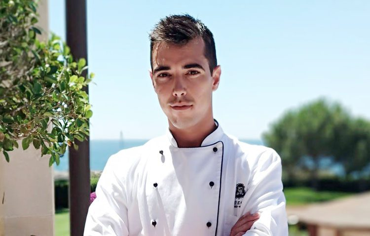 Un utrerano en la final del prestigioso concurso de cocina profesional «Chef Balfegó»