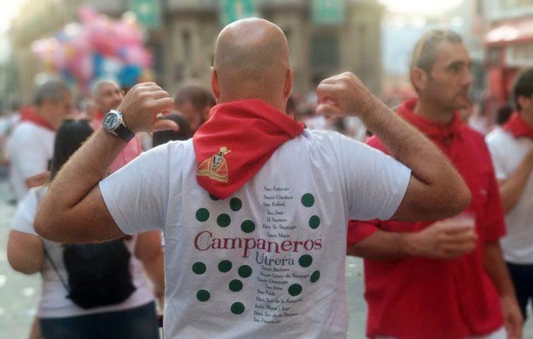La tradición campanera de Utrera, presente en Pamplona