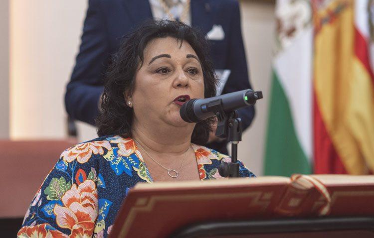 Carmela López renuncia a su acta como concejal de Juntos por Utrera «por motivos personales» (AUDIO)