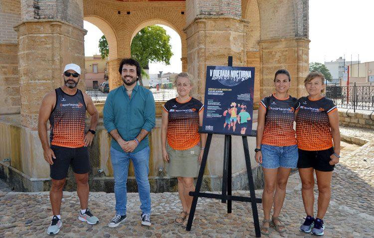 La carrera nocturna «Luna de Agosto» celebra su quinta edición