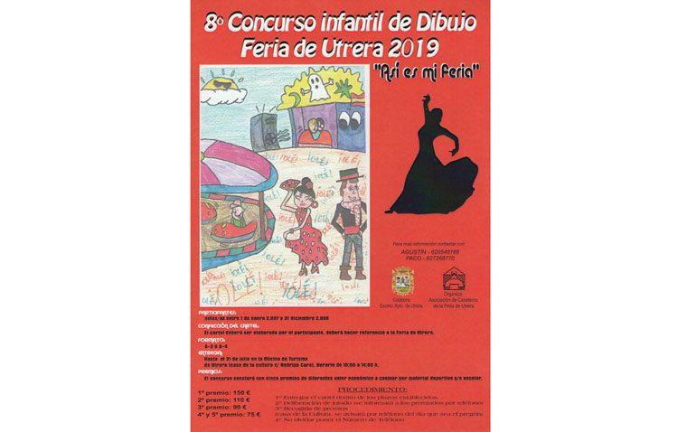 La asociación de caseteros organiza su concurso infantil de carteles de la feria