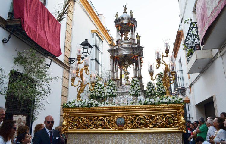 La parroquia de Santiago vivirá una singular jornada para celebrar su tradicional «Corpus Chico»