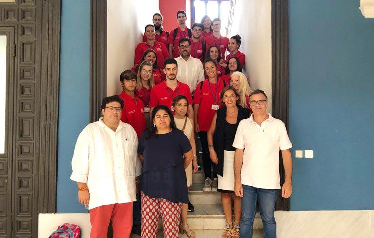 Conocimientos tecnológicos para 15 jóvenes desempleados en una escuela-taller en Utrera
