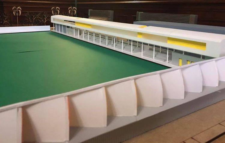 Una transformación total del estadio municipal San Juan Bosco