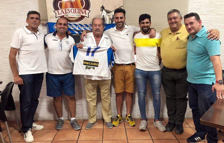 Las empresas utreranas Cafés Macaibo y Puvenac, patrocinadores del Estrella San Agustín C.F.