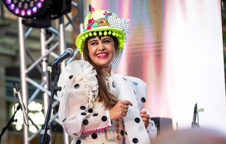 La especial música de la cantante utrerana Maui llega hasta Jordania