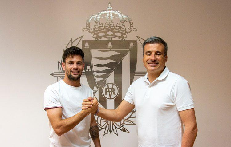 El futbolista utrerano Moisés Delgado vestirá la camiseta del Valladolid hasta 2022